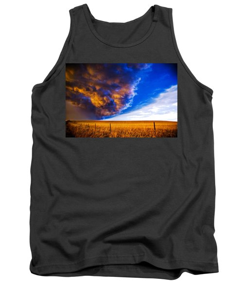 Front At Sunset 2 Of 2 Tank Top