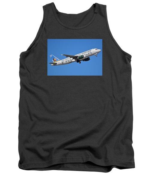 Frontier Airbus A320-214 N213fr Montana The Elk Phoenix Sky Harbor January 12 2015 Tank Top