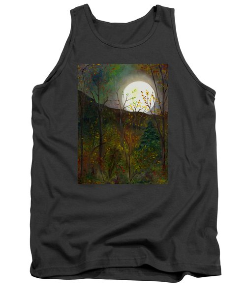 Frost Moon Tank Top by FT McKinstry