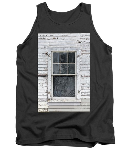 Frosted Window On An Old House Tank Top