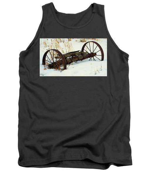 Frozen In Time Tank Top by Janice Westerberg