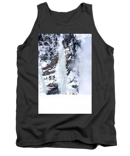 Frozen Montmorency Falls  Tank Top