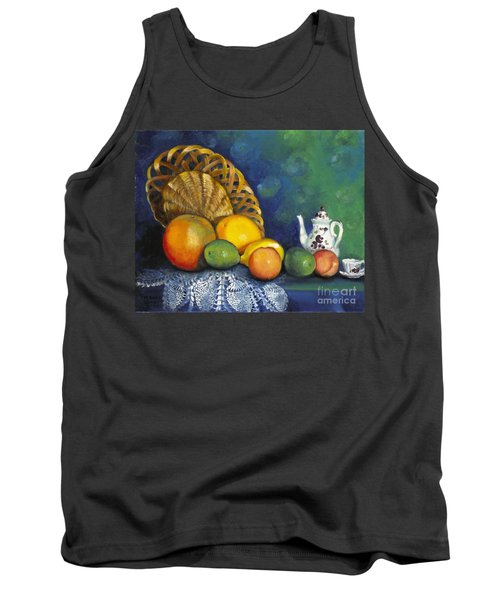Fruit On Doily Tank Top
