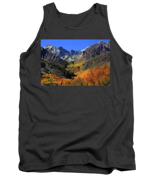 Full Autumn Display At Mcgee Creek Canyon In The Eastern Sierras Tank Top