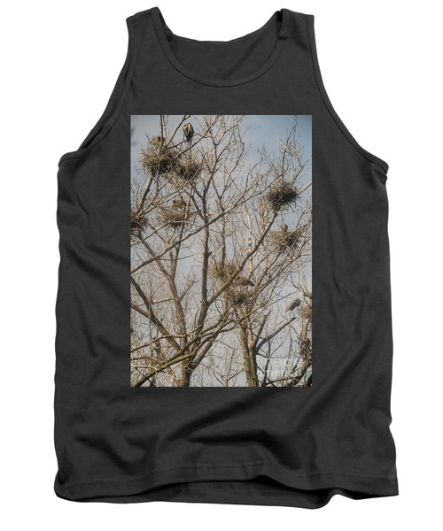 Tank Top featuring the photograph Full House by David Bearden