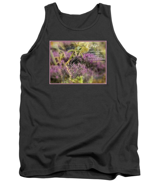 Tank Top featuring the photograph Full Of Hope by David Norman