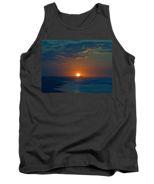 Tank Top featuring the photograph Full Sun Up by  Newwwman