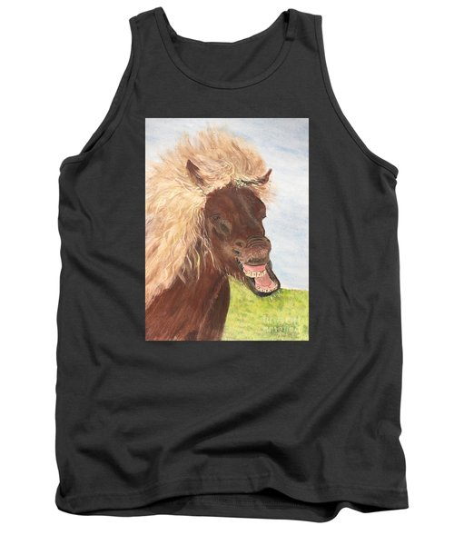 Funny Iceland Horse Tank Top