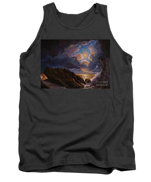 Tank Top featuring the painting Furor by Rosario Piazza