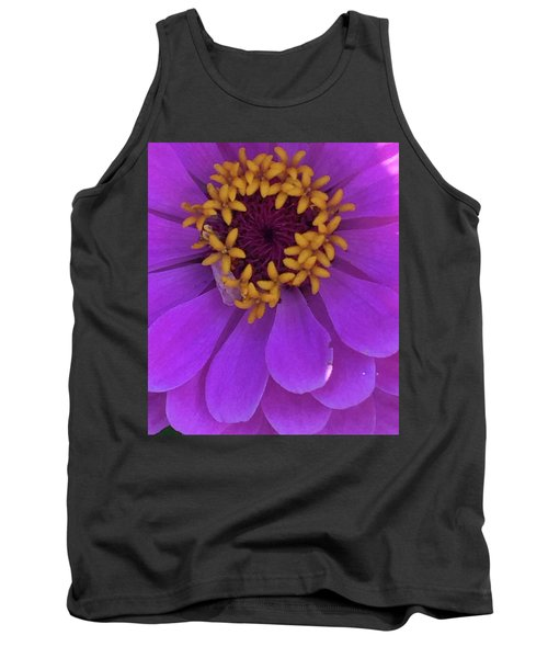 Fuschia Zinnia Tank Top