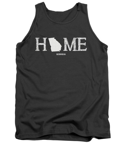 Ga Home Tank Top by Nancy Ingersoll