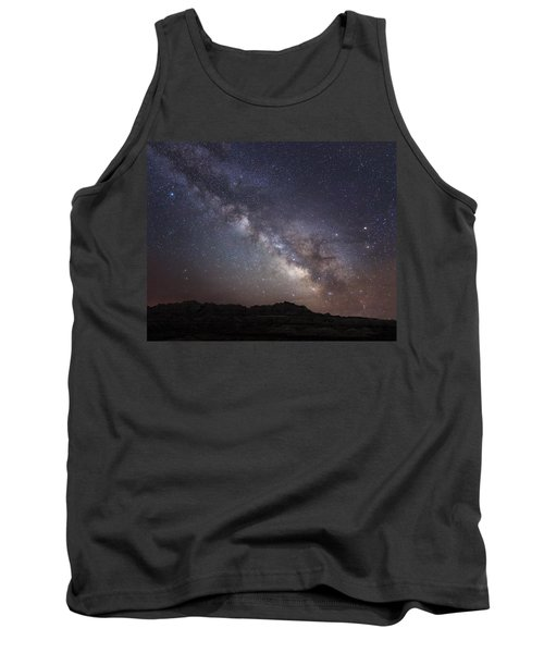 Galactic Light On Badlands National Park Tank Top