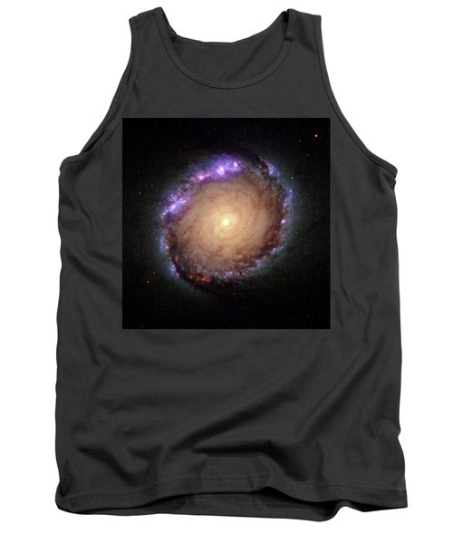 Galaxy Ngc 1512 Tank Top by Hubble Space Telescope