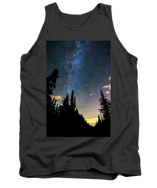 Tank Top featuring the photograph  Galaxy Rising by James BO Insogna