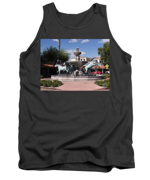 Horses With Vitality And Charm Tank Top