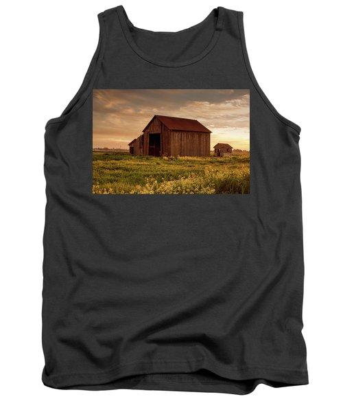 Galt Barn At Sunset Tank Top