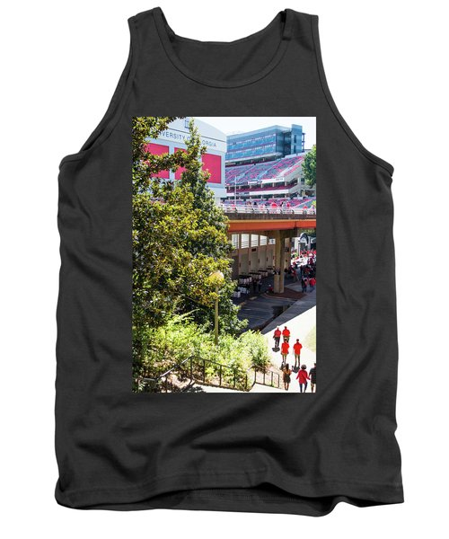 Tank Top featuring the photograph Game Day In Athens by Parker Cunningham