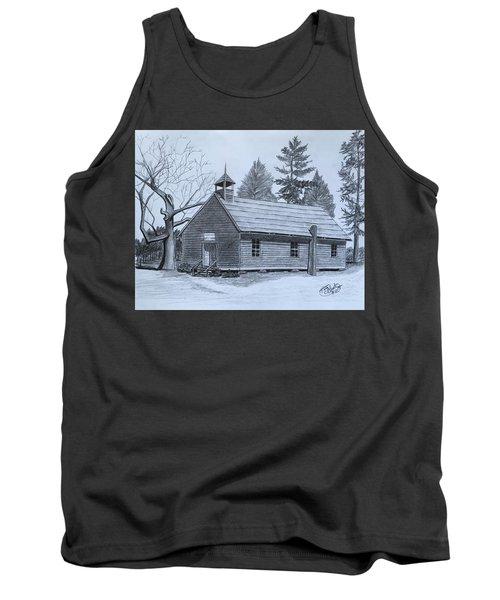 Garden Creek Baptist Church  Tank Top by Tony Clark