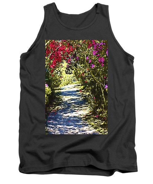Tank Top featuring the photograph Garden by Donna Bentley