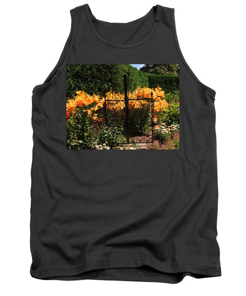 Garden Gate Tank Top by Teresa Schomig