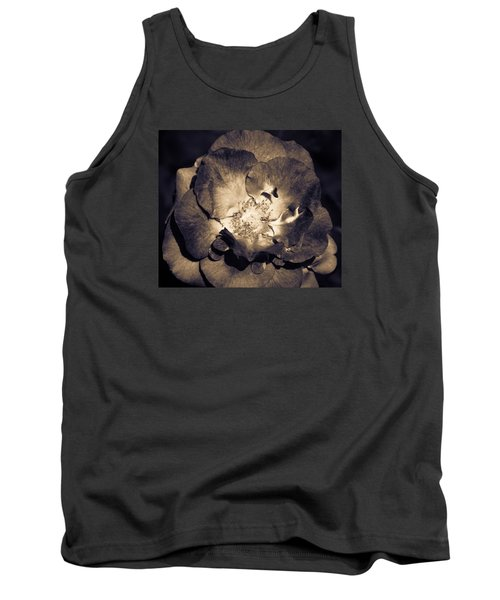 Tank Top featuring the photograph Garden Goodbye by Cathy Donohoue