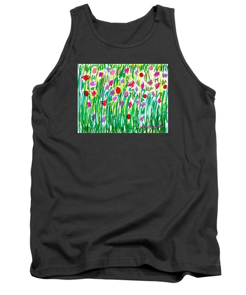Garden Of Flowers Tank Top
