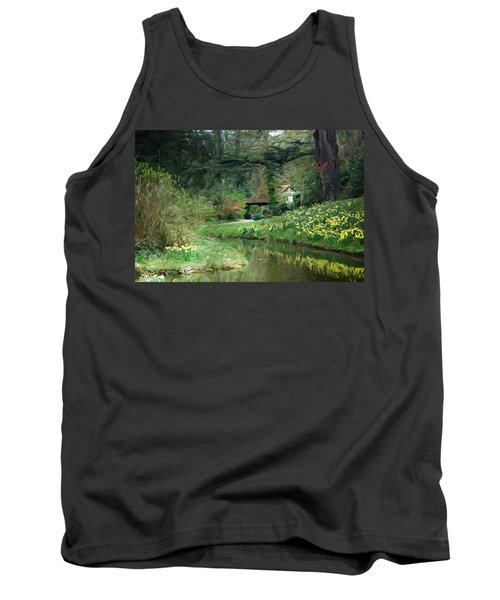 Garden Pond Tank Top