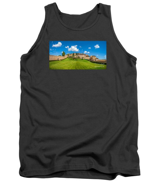 Gardens Of Assisi Tank Top by JR Photography