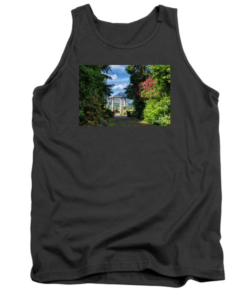 Tank Top featuring the photograph Garinish Island by Juergen Klust