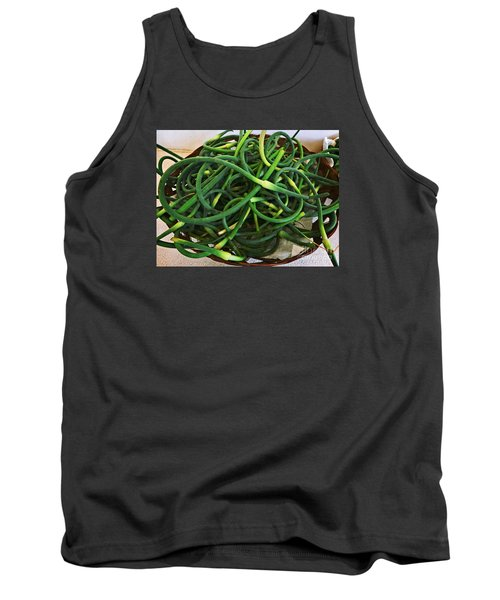 Garlic Stems Tank Top by Dee Flouton