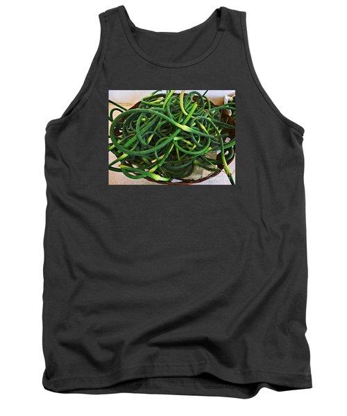 Garlic Stems Tank Top