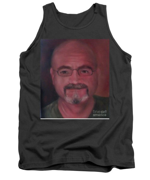 Tank Top featuring the painting Gary by Randol Burns