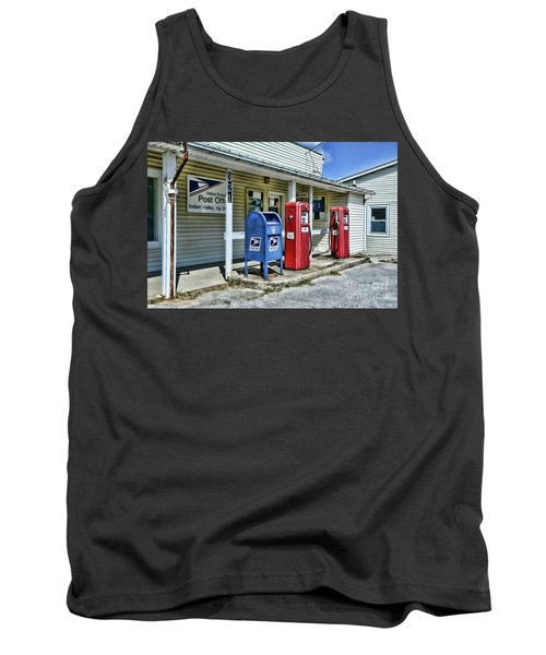 Tank Top featuring the photograph Gas And Mail by Paul Ward