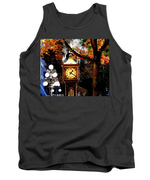 Gastown Steam Clock Tank Top