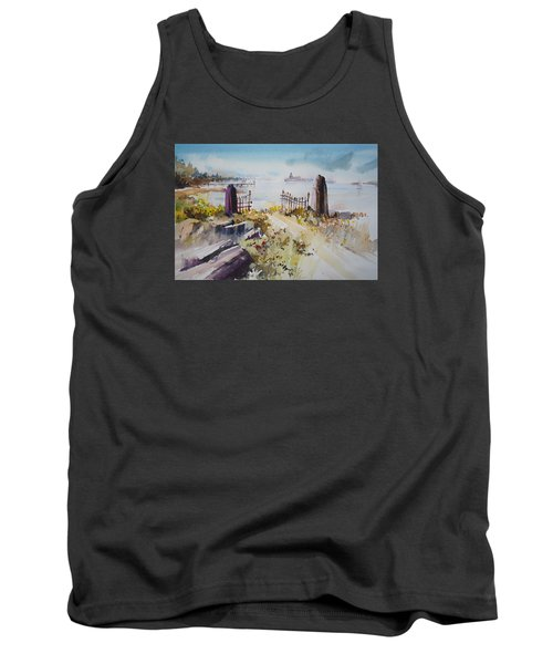 Gated Shore Tank Top by P Anthony Visco