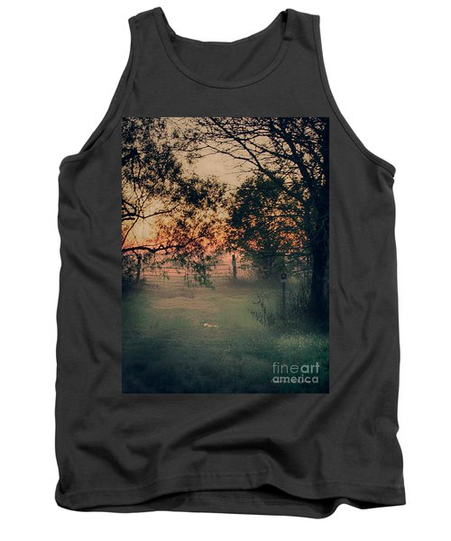 Gated Sunset Tank Top