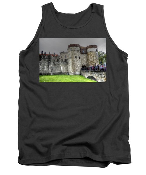 Gates To The Tower Of London Tank Top by Karen McKenzie McAdoo