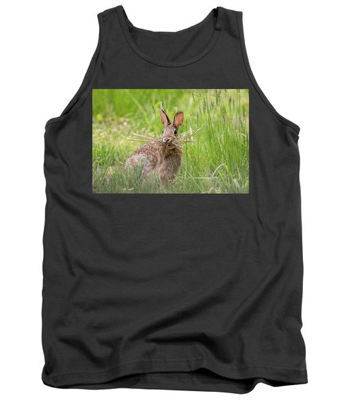Gathering Rabbit Tank Top by Terry DeLuco