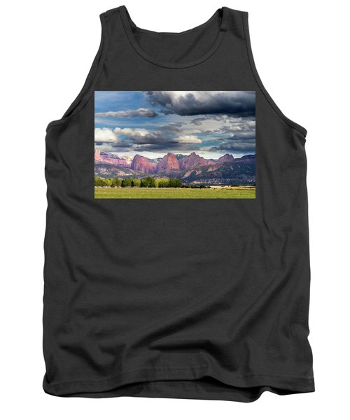 Gathering Storm Over The Fingers Of Kolob Tank Top