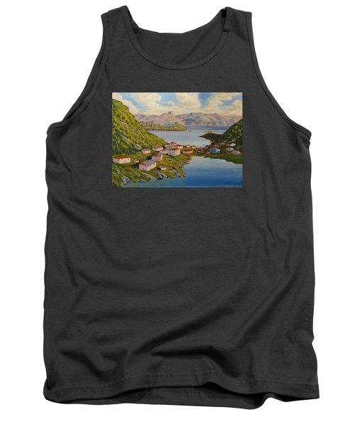 Gaultois Village Newfoundland Tank Top