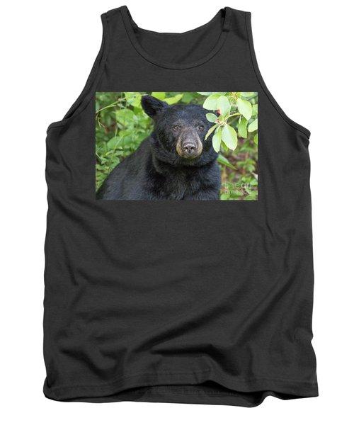Gazing Black Bear Tank Top