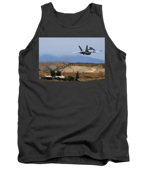 Gear Up Afterburner On Tank Top