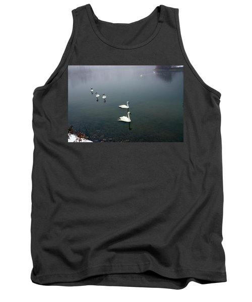 Geese In A Row Tank Top