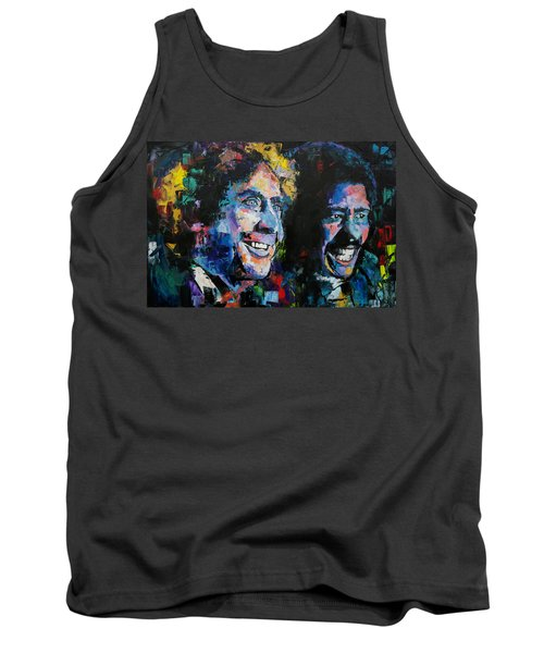 Gene Wilder And Richard Pryor Tank Top by Richard Day