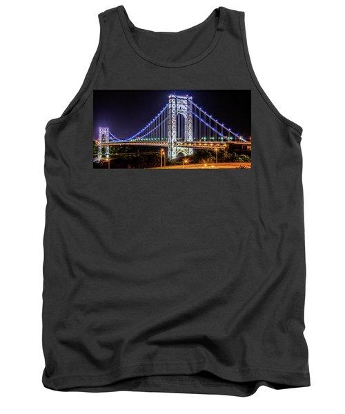 George Washington Bridge - Memorial Day 2013 Tank Top