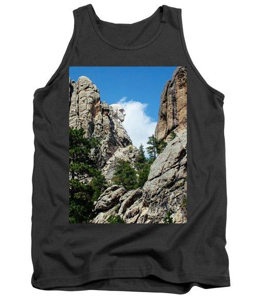George Washinton Profile - Mount Rushmore South Dakota Tank Top