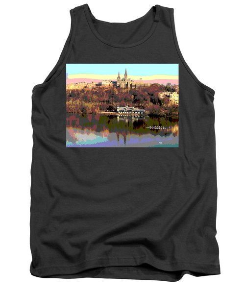 Georgetown University Crew Team Tank Top by Charles Shoup