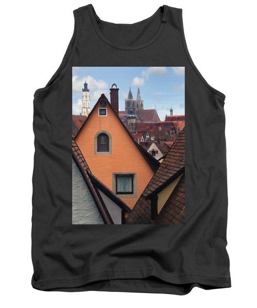 German Rooftops Tank Top