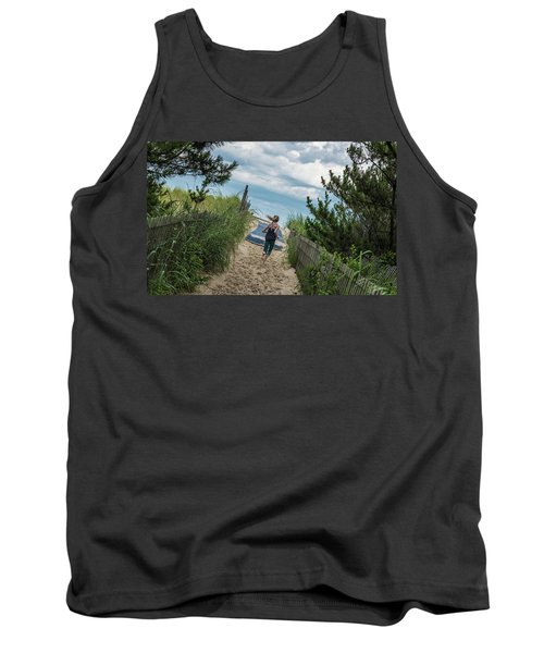 Get To The Beach Tank Top