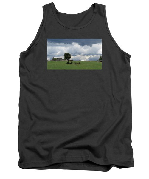Tank Top featuring the photograph Getting Stormy by Jeanette Oberholtzer